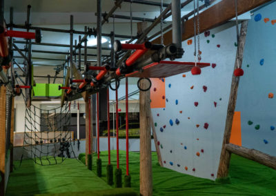 Indoor Ninja Course